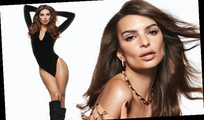 Emily flashes the flesh in smoldering holiday campaign for Express