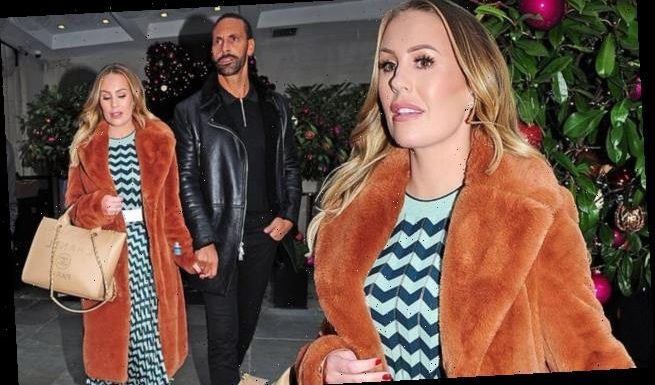 Kate Ferdinand enjoys a romantic date night with new husband Rio