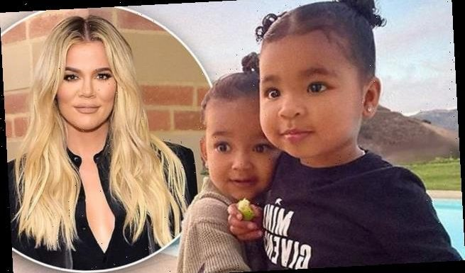 Khloe Kardashian shares a sweet photo of 'besties' True and Chicago