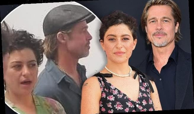 Brad Pitt, 55, spotted several times with actress Alia Shawkat, 30
