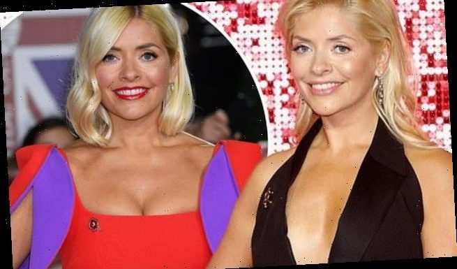 Holly Willoughby denies using 'boob boosting' cleavage tape