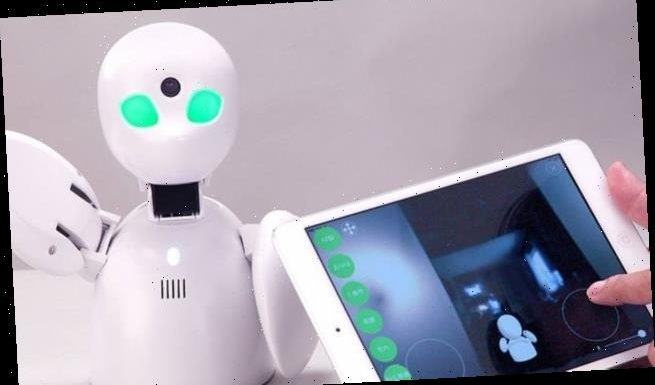 Japanese students can send robots to school in their place when sick