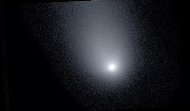 Stunning new picture of interstellar comet captured by astronomers