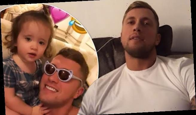 Dan Osborne 'exhausted' by caring for girls without Jacqueline Jossa