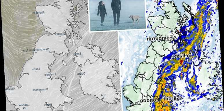 UK weather forecast: 'Danger to life' flood warnings still in place as temperatures plunge to -7C – The Sun