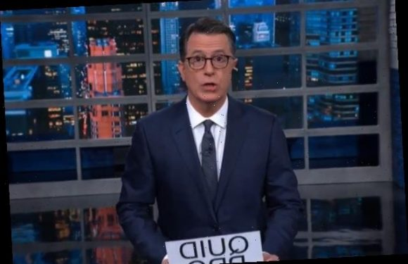 Colbert Explains '5 Stages of Republican Impeachment Grief' (Video)