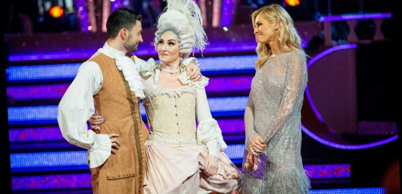 Strictly fans brand show a FIX after Michelle Visage is voted off just days after being 'snubbed' from live tour