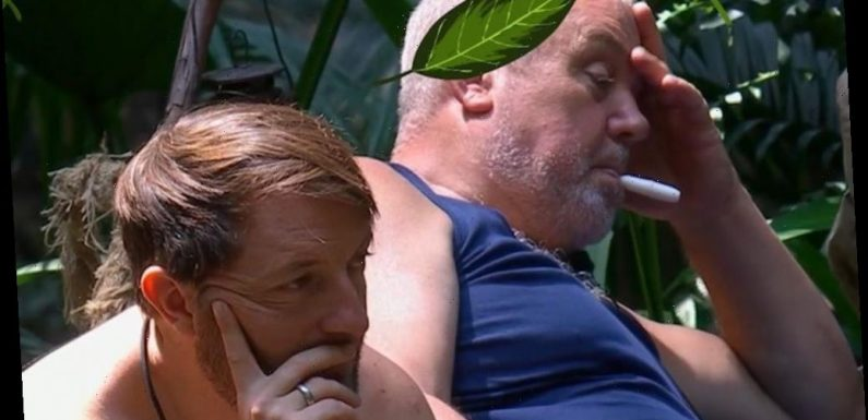 Cliff Parisi spotted vaping on I'm A Celebrity in shock moment in camp – The Sun