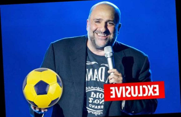 Comic Omid Djalili becomes football referee in desperate bid to lose weight – The Sun