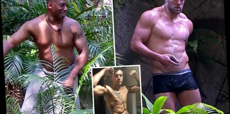 I'm a Celebrity's James Haskell and Ian Wright strip off for jungle shower – but fans demand to see Roman Kemp – The Sun