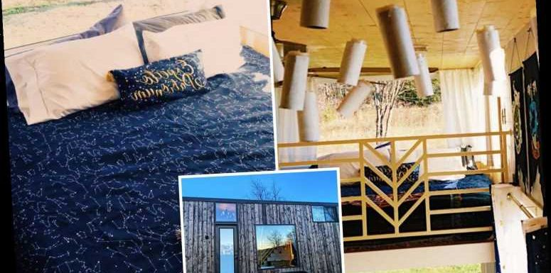 Harry Potter themed micro-house with Hogwarts interior could be your next holiday home – The Sun