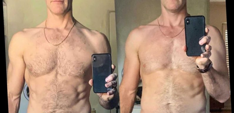 James Van Der Beek Shows Off Toned Abs He Got from Dancing '6 Hours a Day' on DWTS in Shirtless Selfie