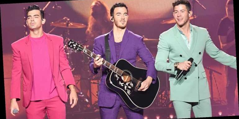 The Jonas Brothers Say Goodbye to Their Old Tour Wardrobe