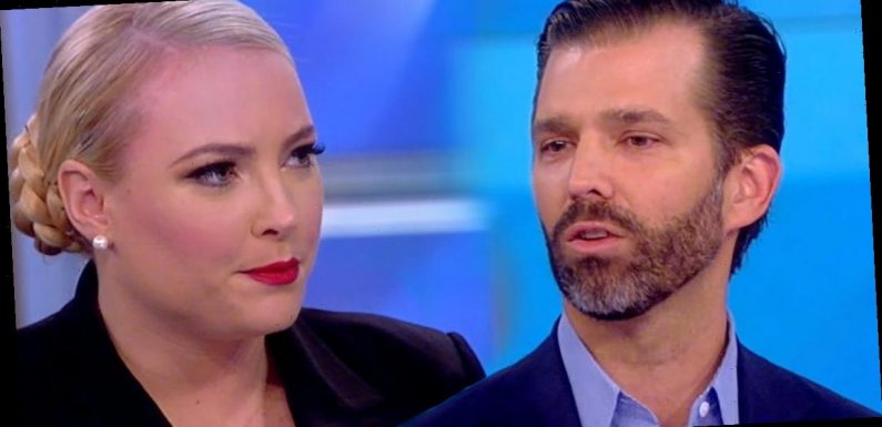 Meghan McCain Confronts Donald Trump Jr., Calls Out Family for Hurting 'A Lot of People'