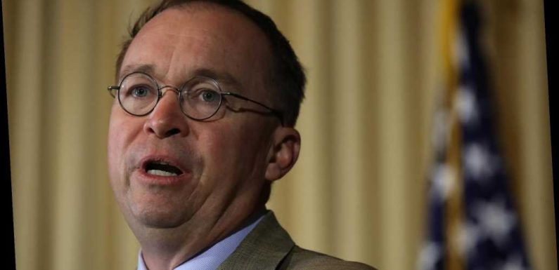 Mulvaney asks judge if he must comply with House impeach-probe subpoena