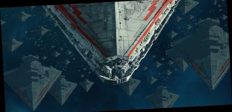 Star Wars The Rise Of Skywalker Poster Poe Dameron Faces An Armada Of Star Destroyers Wsbuzz Com