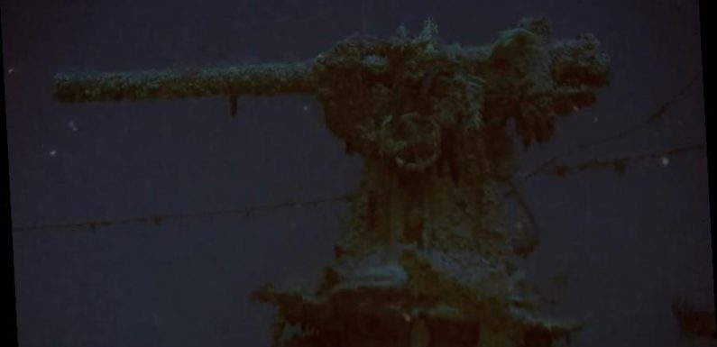WW II submarine discovered 77 years after it vanished in the Mediterranean