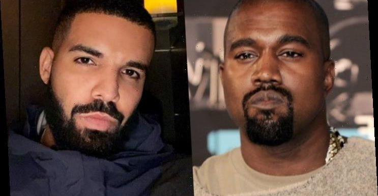 Kanye West Disses Drake and Son Adonis on Unreleased Track