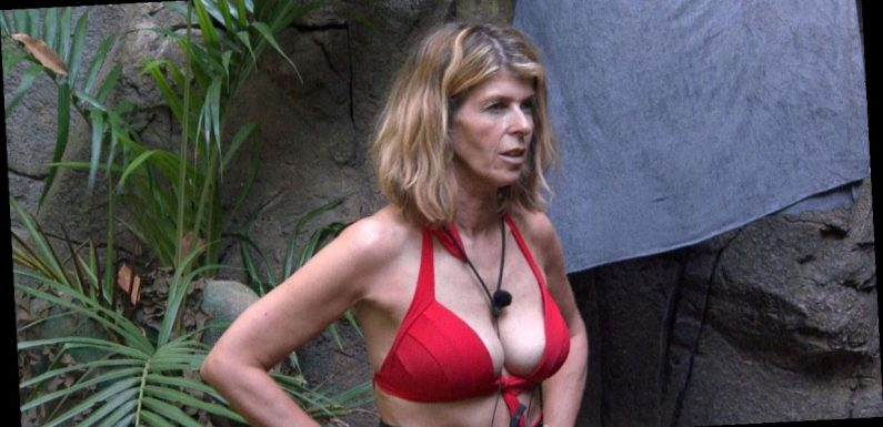 I'm A Celeb's Kate Garraway stripped off for jungle shower in eye-popping bikini