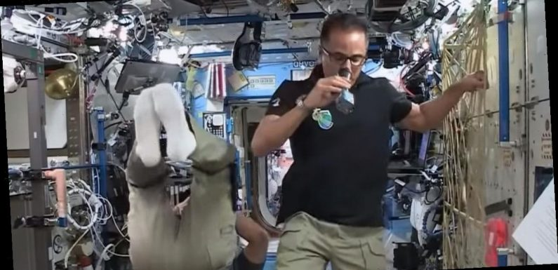 Wild NASA conspiracy erupts as people claim they can 'see wires in astronauts'