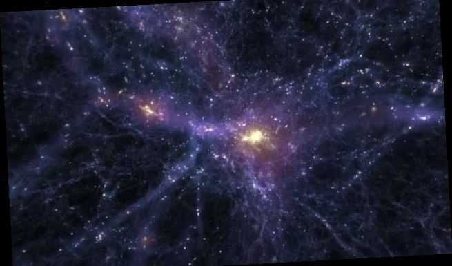 Gamma rays from the center of galaxy could be dark matter, study says