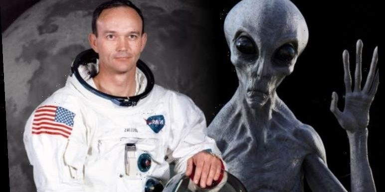 NASA shock: Astronaut Michael Collins drops a major alien hint in tweet about 'life forms'