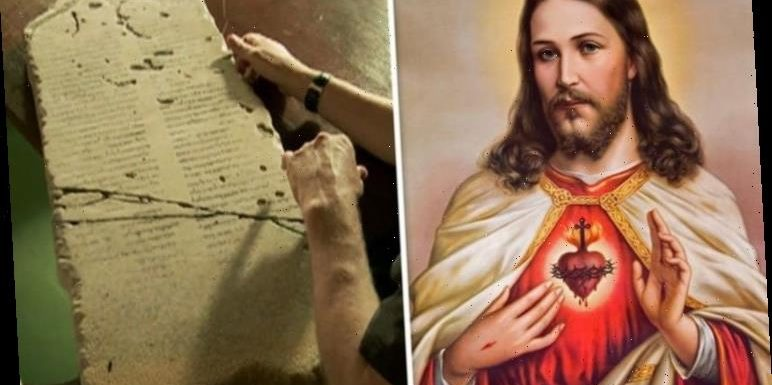 Bible shock: How ancient stone claims leader BEFORE Jesus 'rose from dead in three days'