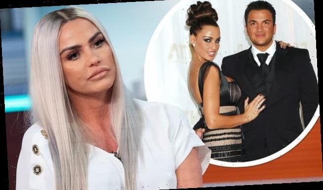 Katie Price 'keen to sell two engagement rings from ex Peter Andre'
