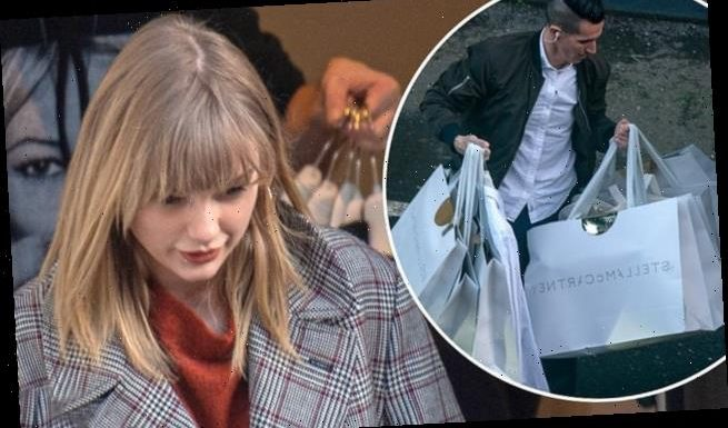 Taylor Swift PICTURE EXCLUSIVE: Star visits Stella McCartney in London