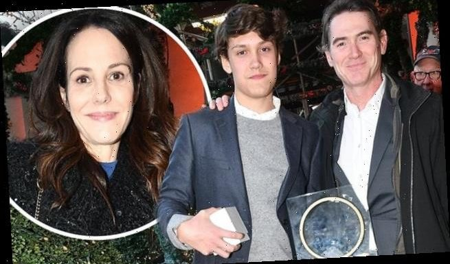 Billy Crudup takes son along to support ex Mary-Louise Parker