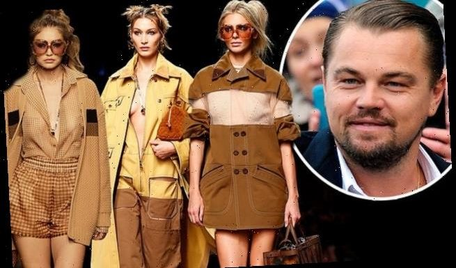 Leonardo DiCaprio parties with Kendall Jenner and Hadid sisters