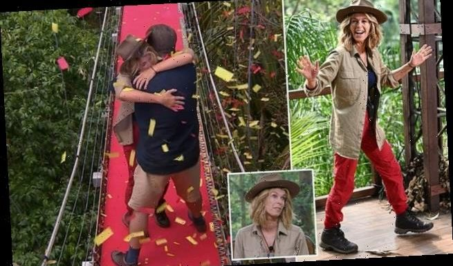 I'm A Celebrity: Kate Garraway becomes the ninth to leave the jungle