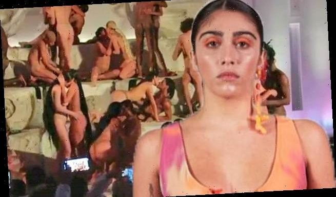 Madonna's daughter Lourdes Leon simulates ORGY for Miami's Art Basel