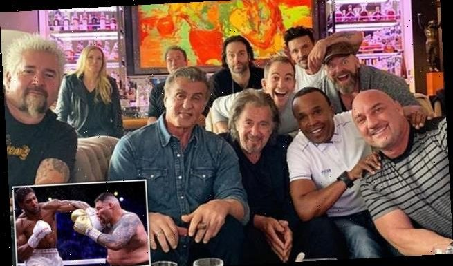 Sylvester Stallone hosts A-list boxing bash with Arnold Schwarzenegger