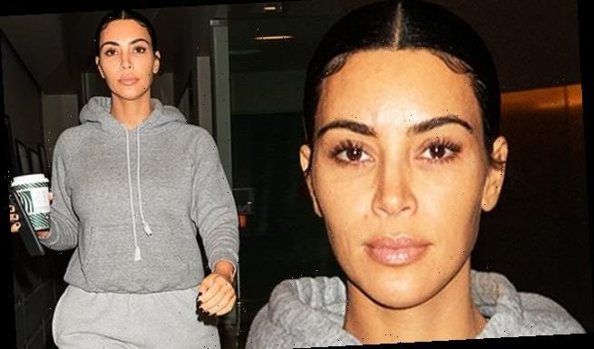 Kim Kardashian dresses for comfort in slouchy sweat after photo shoot