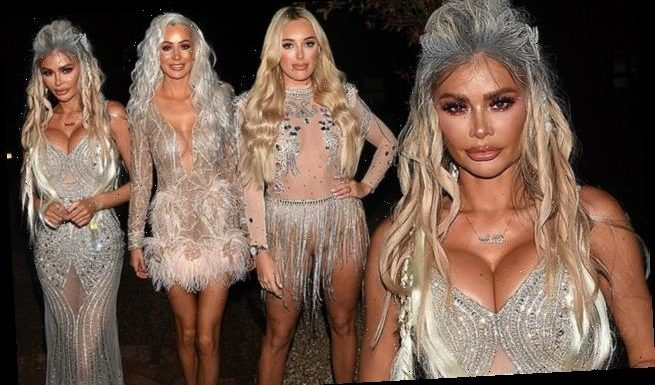 TOWIE: Chloe Sims channels the Ice Queen in Christmas special