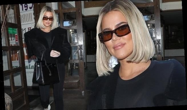 Khloe wears black after Jordyn says she did NOT sleep with Tristan