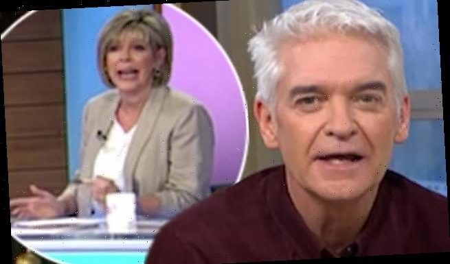 This Morning's Phillip Schofield is CUT OFF mid sentence