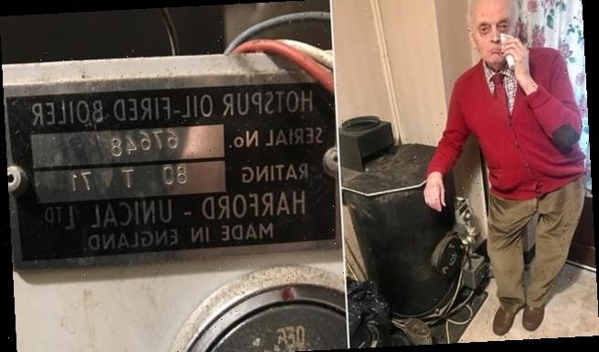 Couple's boiler stops working 48 YEARS after they bought it for £200