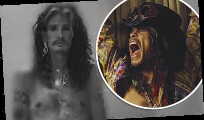 Steven Tyler shows off his age-defying physique in NUDE photo shoot