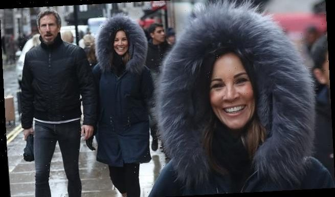 Andrea McLean and Nick Feeney appear loved up while shopping together