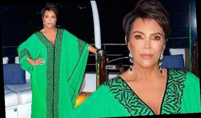 Kris Jenner travels to St. Barts with her full glam team