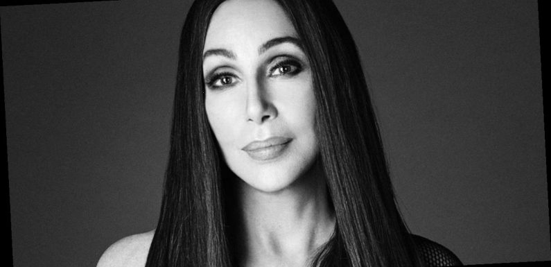 Cher, 73, turns back time with cleavage-baring sheer top and corset combo
