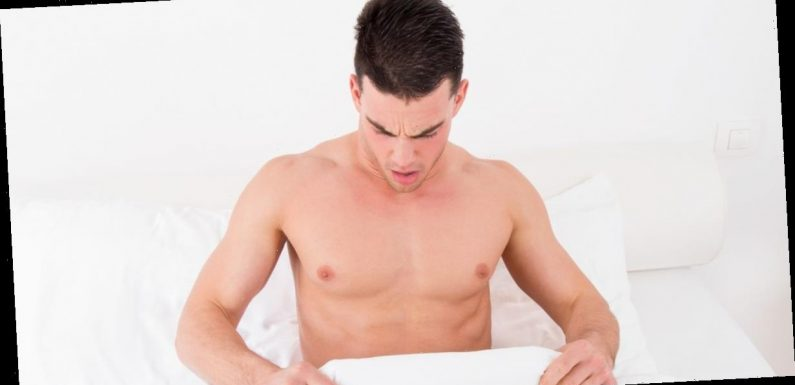 One in five British men says stress at work affects their performance in bedroom