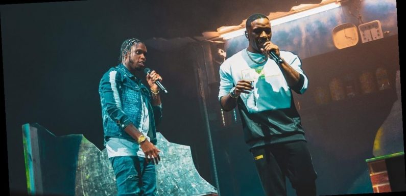 Krept & Konan cause frenzy at O2 arena as they bring out Stormzy for rowdy set