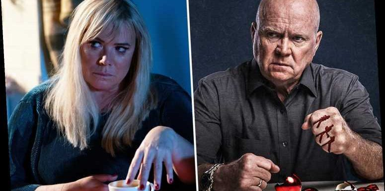 Seven EastEnders spoilers for next week including Phil Mitchell's revenge after Sharon's secret gets out