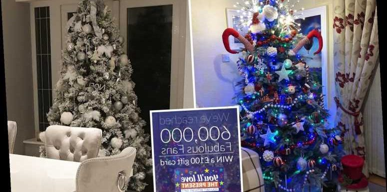 Your Christmas tree could win you a £100 The Range gift card – all you need to do is take a photo of it