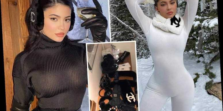 Inside Kylie Jenner's $16,000 snow wardrobe with rabbit fur scarves and lambskin gloves – The Sun