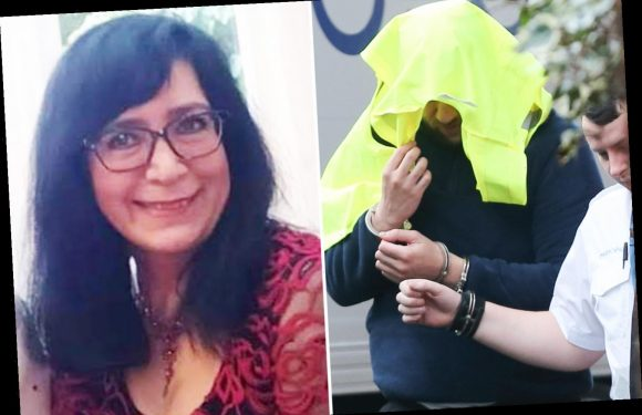 Man, 35, appears in court charged with murder of ex-British Airways stewardess, 58, found dead in £500k house in Sussex