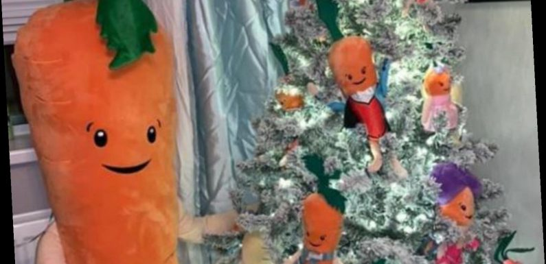 Mum praised for making entire Christmas tree dedicated to Aldi's Kevin the Carrot